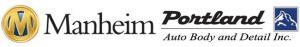 Manheim Auto Body Logo